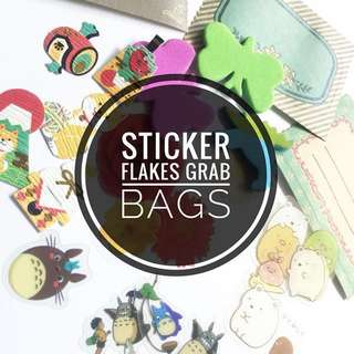 Sticker Flake Grab Bag