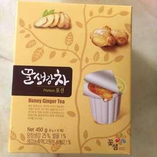 🚚 降價-韓國蜂蜜生薑茶(15入)