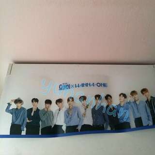 Wanna One Transparent Table Mat Mouse pad