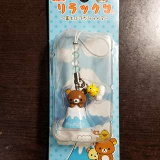 Rilakuma Mt Fuki accessorie limited edition from japan