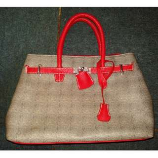 Hermes Style Ladies Bag - Expandable
