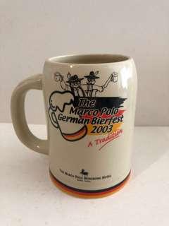 2003香港馬可孛羅酒店德國啤酒節酒杯一隻