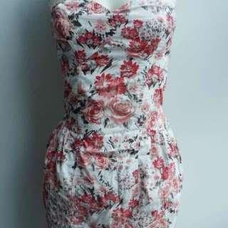 Pull and Bear - Summer flowery mini dress
