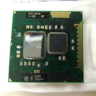 Notebook CPU I5 430M