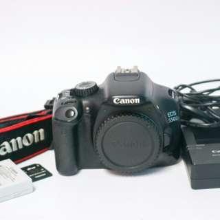 Canon 550D DSLR