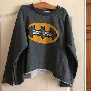 🚚 蝙蝠俠短版造型上衣