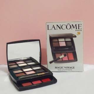 Lancome Magic Voyage Eyeshadow and Lipstick Travel Palette