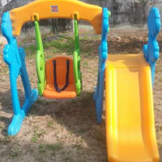 Grow'n Up ( ToysRUs) First Steps Scramble Slide & Swing set