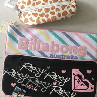 Pencil Case (Billabong and roxy)