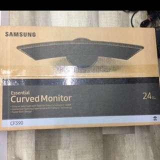 Wts brandnew Samsung curve 24 inch 24c390f led monitor $210