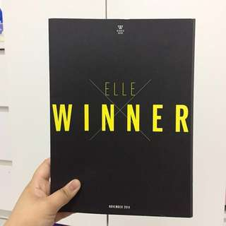 WINNER x ELLE photobook (rare)