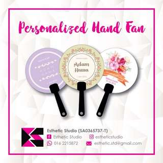 Hand Fan Door Gift / Goodies