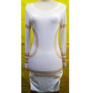 Dress kim white