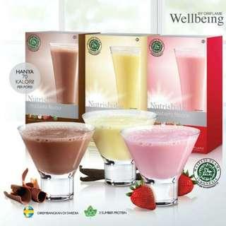 Nutrishake wellbeing