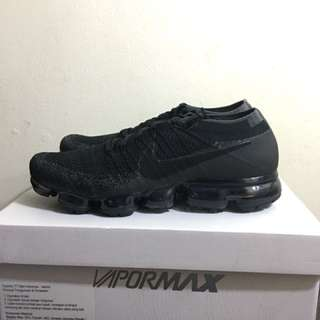 Vapormax triple black original 10.5 us