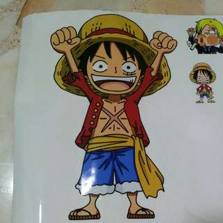 One Piece Assorted Stickers