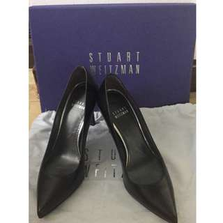 50% OFF - Authentic Stuart Weitzman Black Pump (Heist)