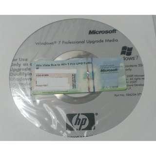 Microsoft - Windows 7 Professional Update Media (with product key) - English version