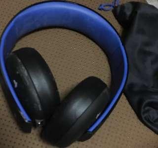 Sony 原裝無線耳機 Gold Wireless Headset