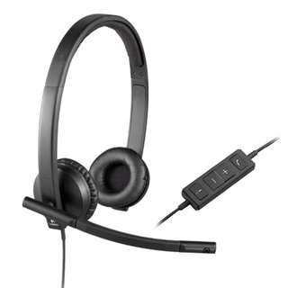 Logitech USB Headset H570e Stereo (2-year warranty)