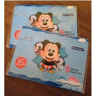 5 pcs Mickey Foil Balloons