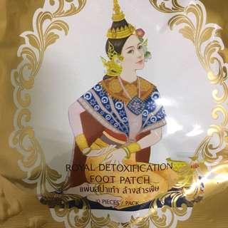 🚚 泰國 皇家足貼 Royal foot patch 有四包 一包 100$ 一起出售 安心睡眠 好眠