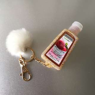 [BN] Bath & BodyWorks Anti-Bacterial Hand Gel with Key Chain (Hand sanitizer)