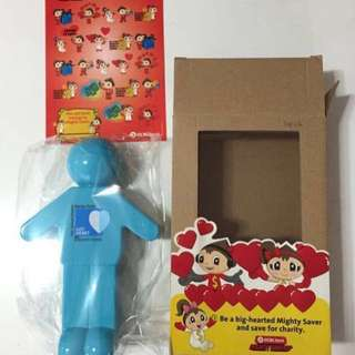 CLEARANCE SALES {Stationery - Toy & Kids} BN Mighty Savers - The School Pocket Money Fund GOT HEART