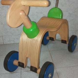 SoftWood Wooden Animal Ride On