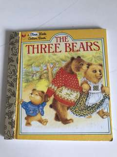 The Three Bears - A First Little Golden Book