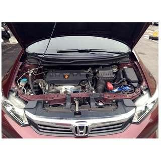 本田 2014 K14 1.8 全車原版件 跑少 車況好 可全貸 免頭款
