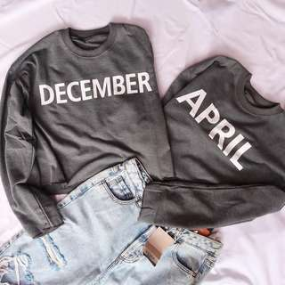 Jacket and sweater