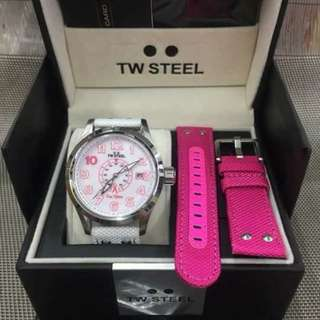 TW STEEL PINK RIBBON SPECIAL EDITION TIMEPIECE