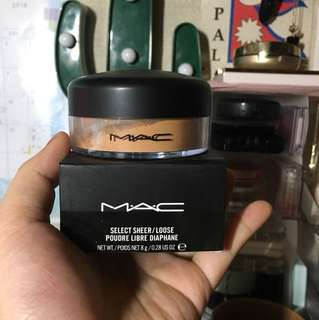 新🆕MAC select sheer loose powder#NC45碎粉