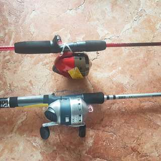 Shakespear and Zebco fishing rod and reel
