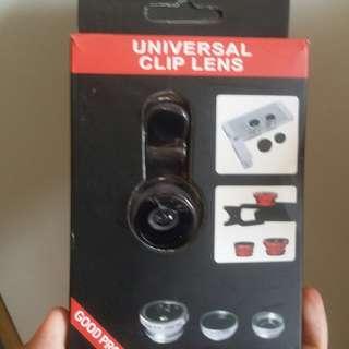 自拍必備魚眼鏡,廣角鏡 Universal clip lens