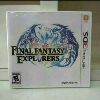 3DS Final Fantasy Explorer