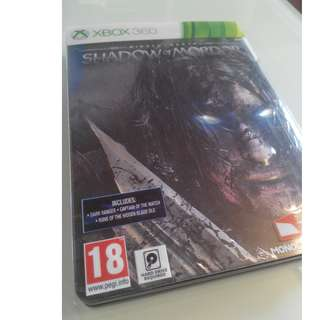 Xbox 360 MIDDLE-EARTH : SHADOW OF MORDOR + COMPLETE DLCs STEELBOOK COLLECTION EDITION