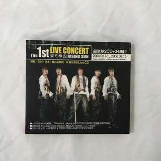 🚚 東方神起|Rising sun live CD