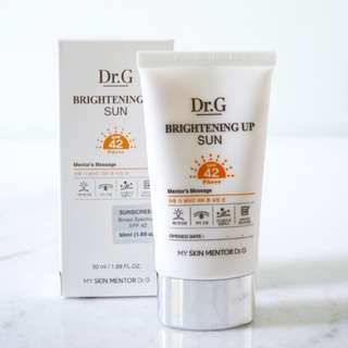 Dr G Brightening Up Sun SPF42 PA+++
