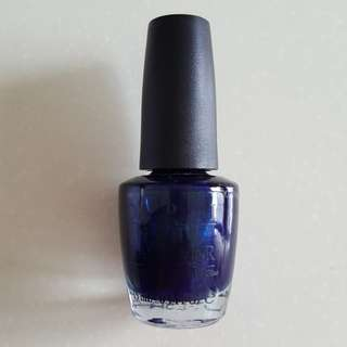 OPI Yoga-Ta Get This Blue! NLI47 (Green Label)