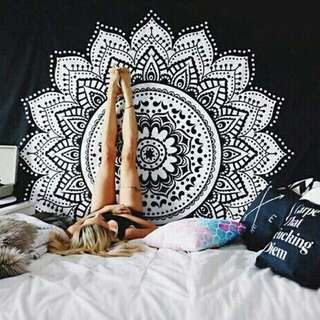 Mandala Hanging Tapestry