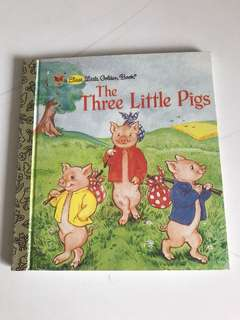 The Three Little Pigs - A First Little Golden Book