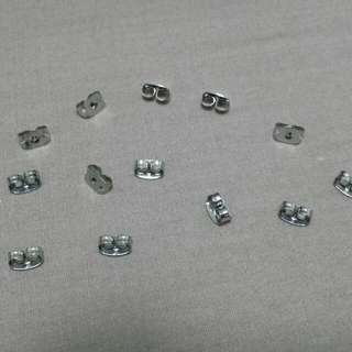 $5.50/pack BN READY STOCK - Earring Studs Stopper for Sales - 20 pcs