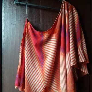 JESSICA SIMPSON ONE SHOULDER TOP / DESIGNER TOP / BRANDED TOP / PRELOVED SUMMERWEAR