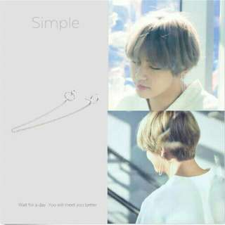 [PO] BTS V Earring (1pc)