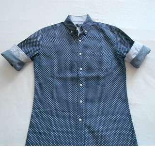 Dark Blue Natural Project Shirt