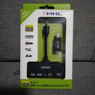 MHL to HDMI Connection Kit