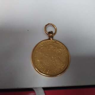 State Liberty Gold Coin