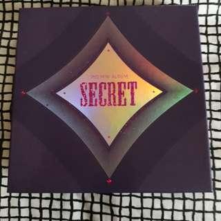 SECRET 3rd Mini Album (Poison)
